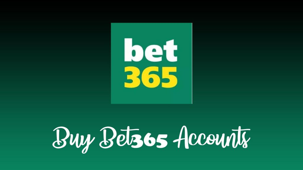 Buy Bet365 Accounts Display