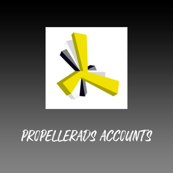Buy PropellerAds Accounts