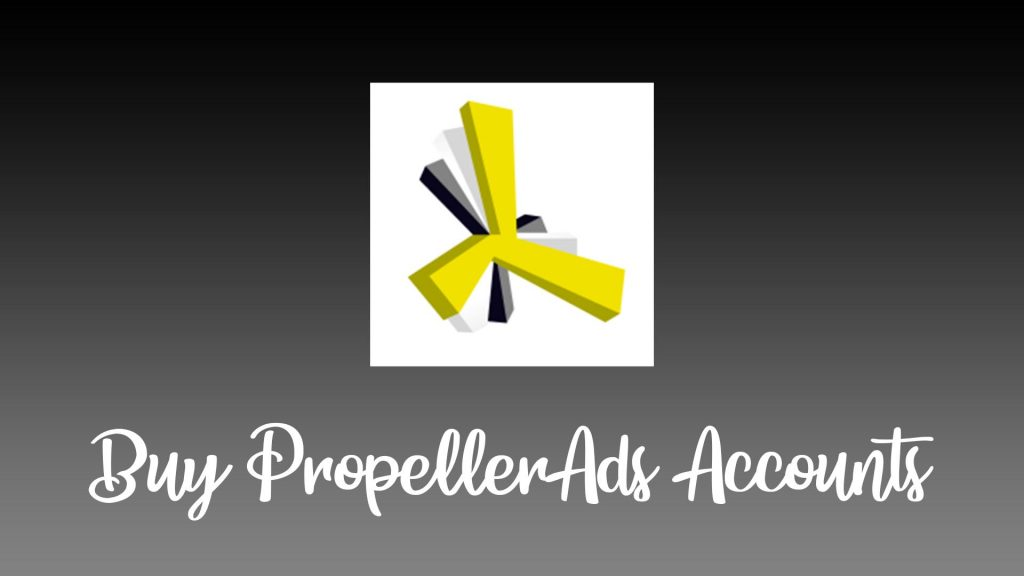 Buy PropellerAds Accounts Display
