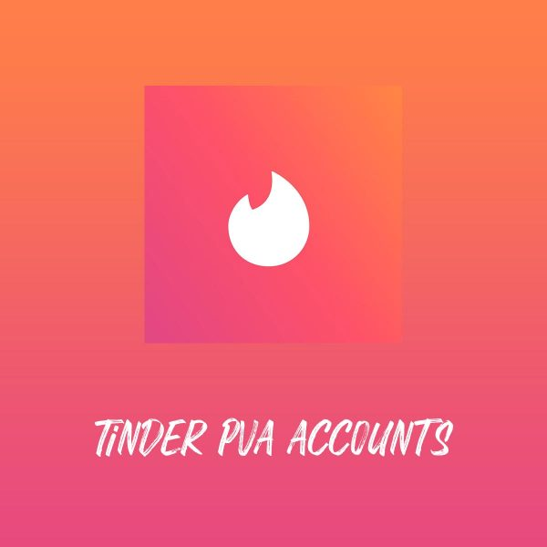 Buy TINDER PVA ACCOUNTS