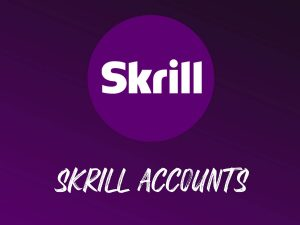 buy skrill accounts